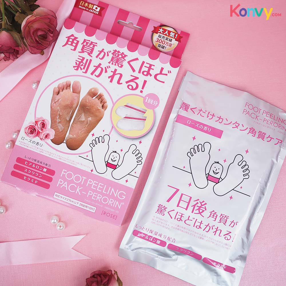 Perorin Foot Peeling Rose_1