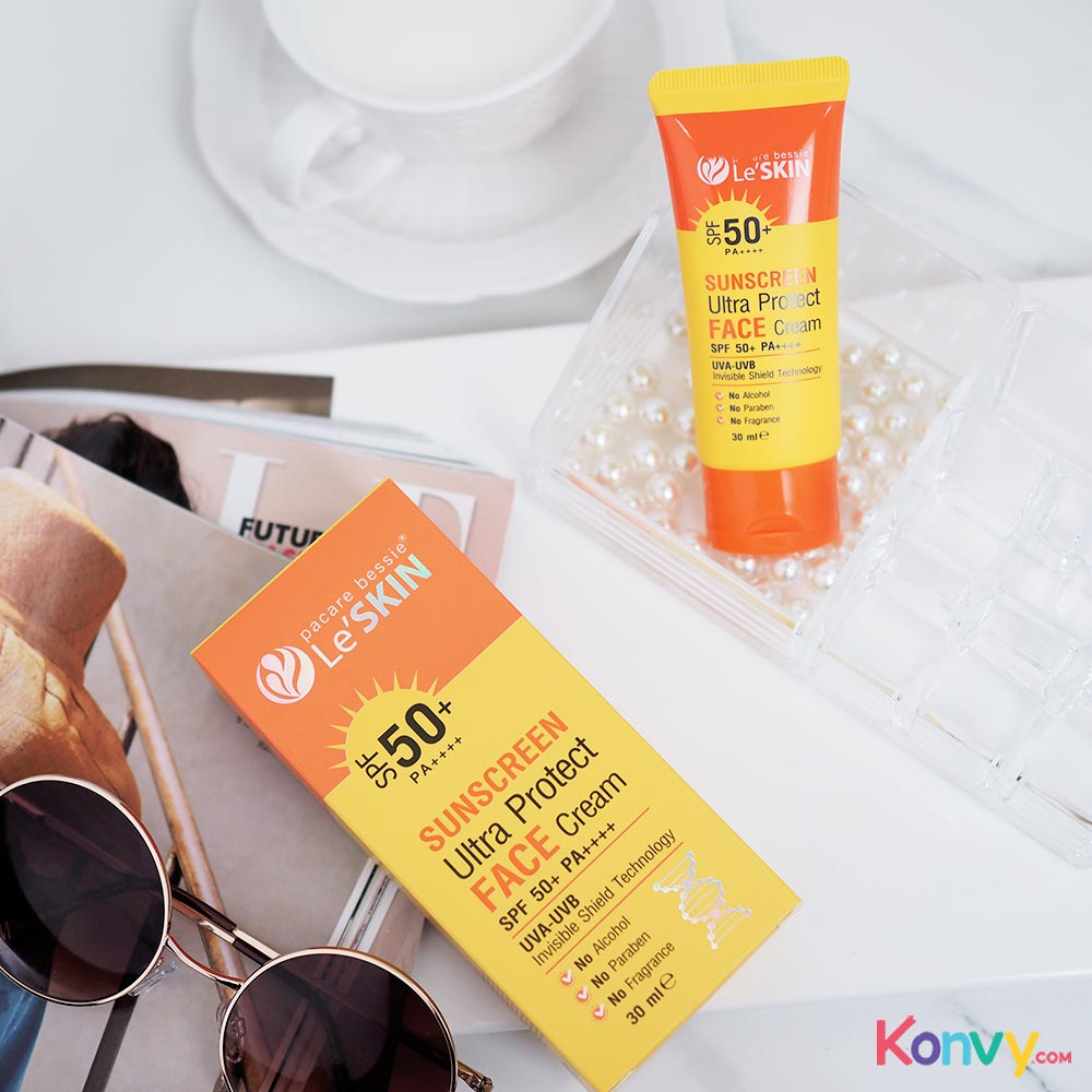 LeSkin Sunscreen Ultra Protect Face Cream SPF50+/PA+++ 30ml_1