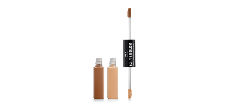 NYX Professional Makeup Sculpt & Highlight Face Duo #SHFD02 Almond/Light