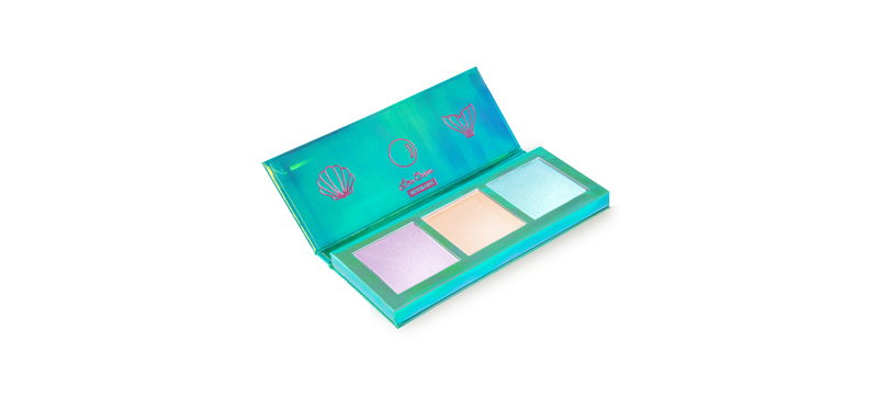 Lime Crime Hi - Lite Electric Highlighter Palette #Mermaids