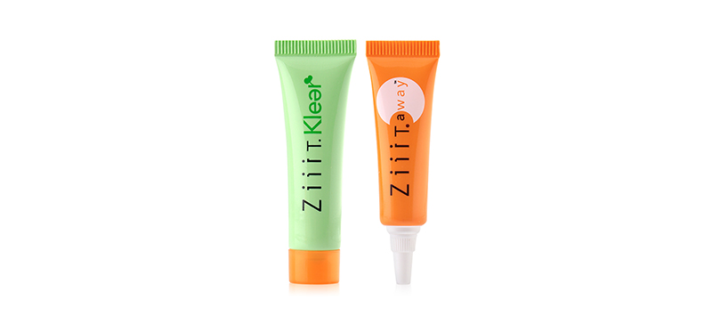 Ziiit Set 2 Items (Away Zuper Strength Acne Cream 7g + Klear 7.5g)
