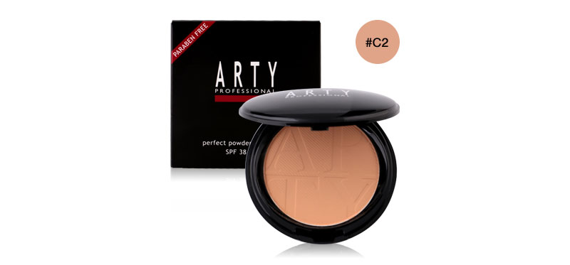 Arty Professional Perfect Powder Foundation SPF38/PA+++ #C2