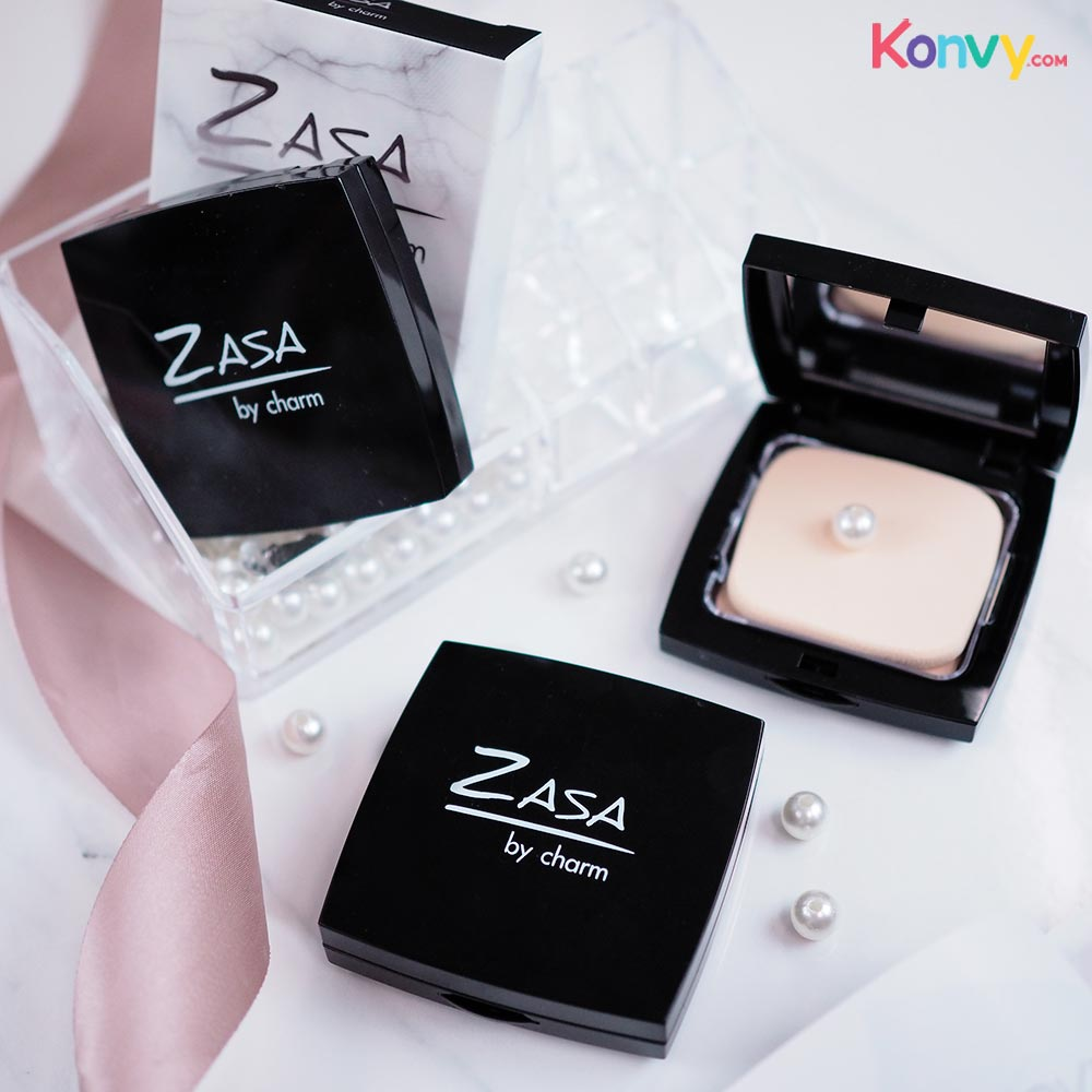 Zasabycharm Exoskin Precious Natural Powder SPF30/PA+++ #Z02_1