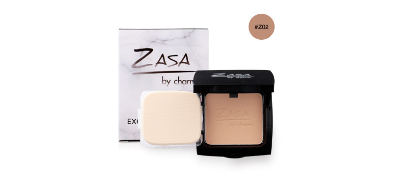 Zasabycharm Exoskin Precious Natural Powder SPF30/PA+++ #Z02