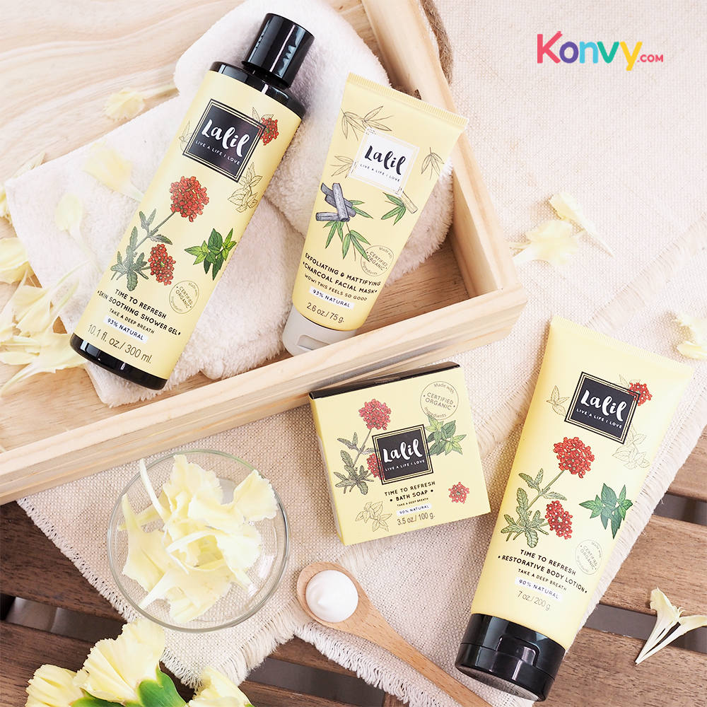 Lalil Time To Refresh Skin Soothing Shower Gel (30010)_1
