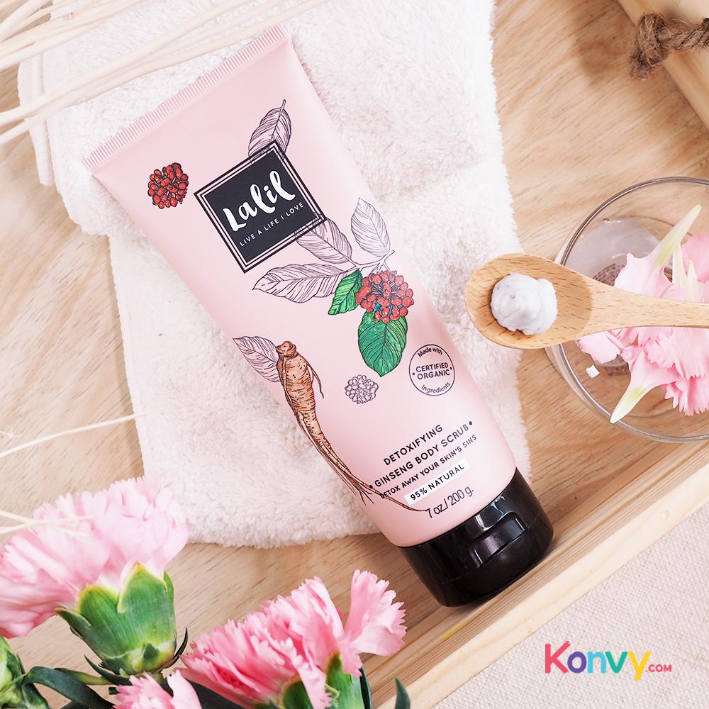 Lalil Detoxifying Ginseng Body Scrub (30019)_2