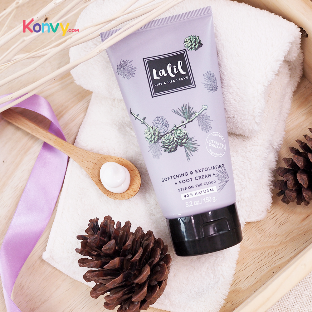 Lalil Softening & Exfoliating Foot Cream (30034)_2