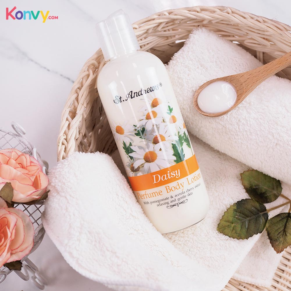 St.Andrews Floral Body Lotion Daisy