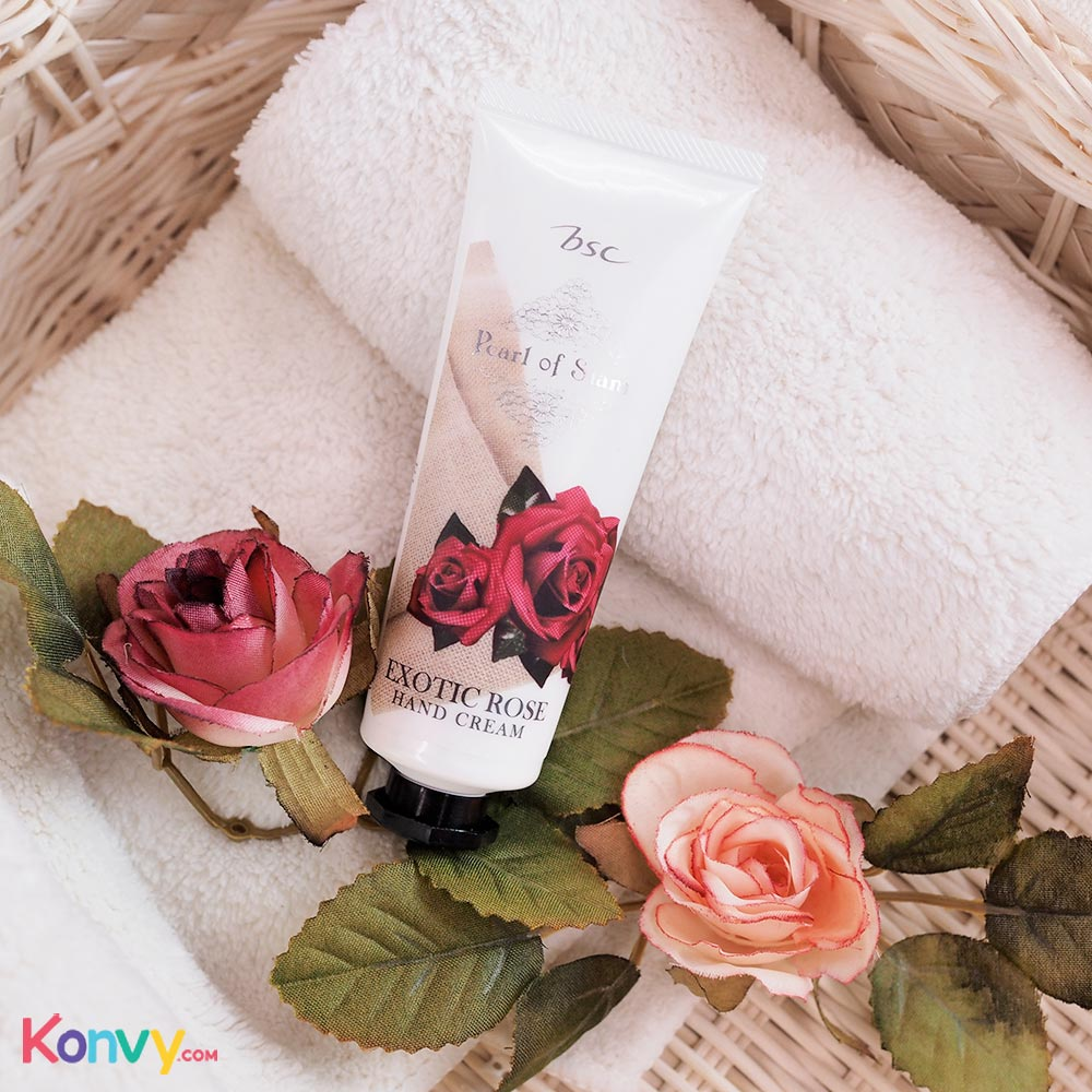 BSC Pearl Of Siam Exotic Rose Hand Cream_1