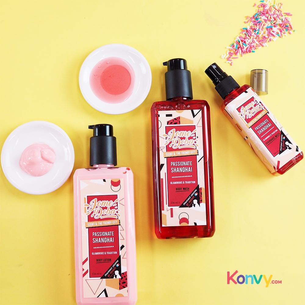 Jome doba Passionate Shanghai Set 3 Items (Body Wash 236ml + Body Lotion 236ml + Fragrance Mists 100ml)_1