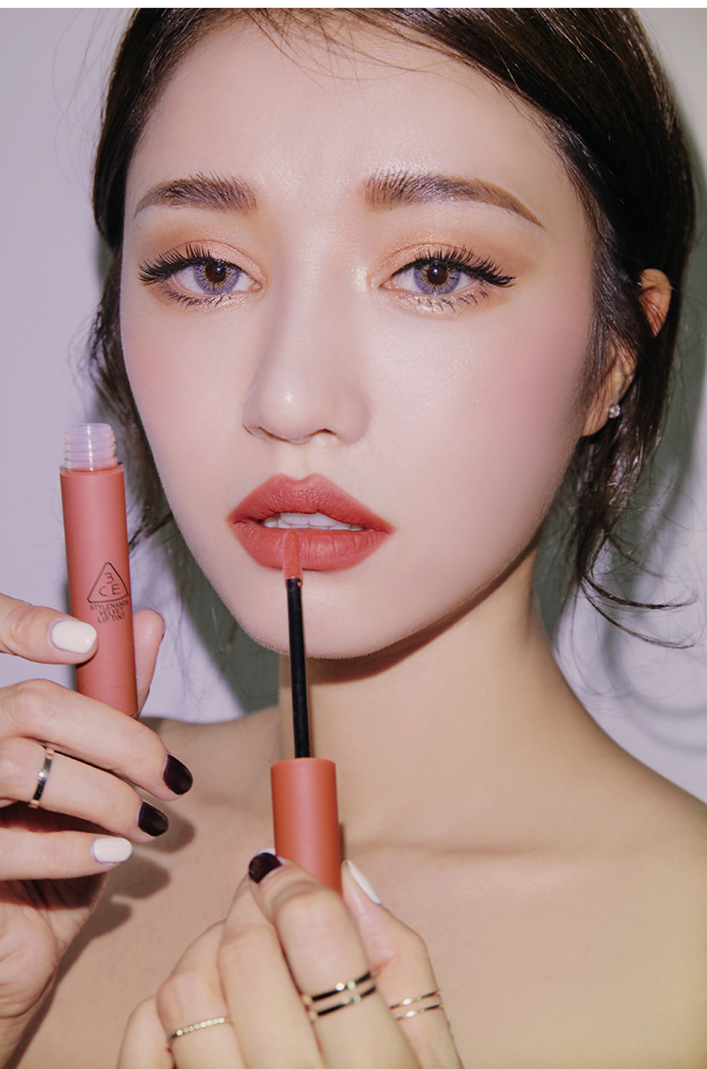 3CE Velvet Lip Tint #Going Right_4