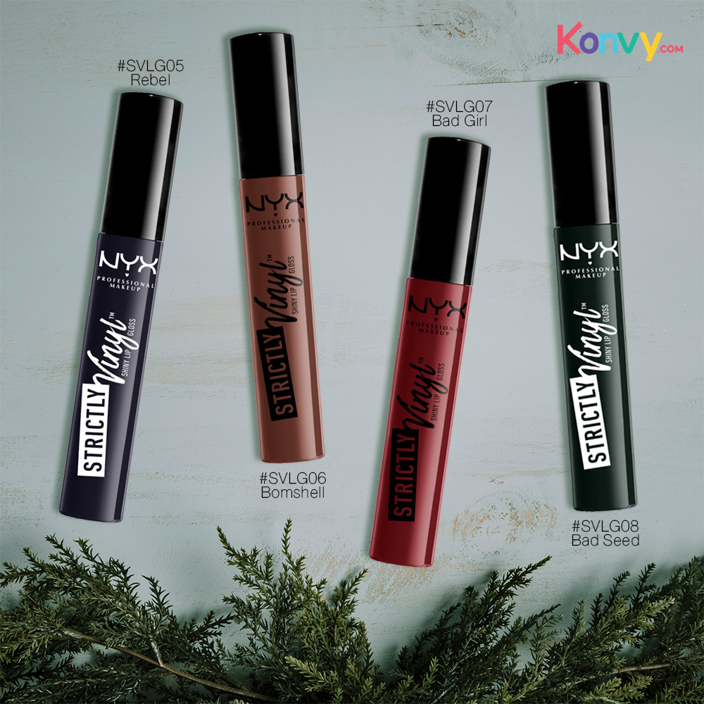 NYX Professional Makeup Strictly Vinyl Lip Gloss #SVLG08 Bad Seed_1