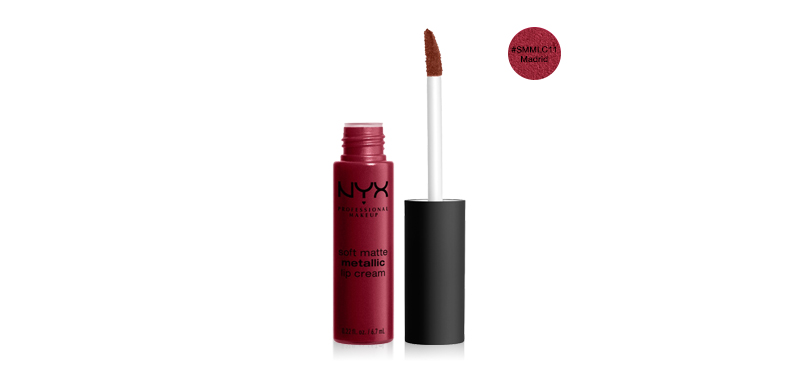 NYX Professional Makeup Soft Matte Metallic Lip Cream #SMMLC11 Madrid