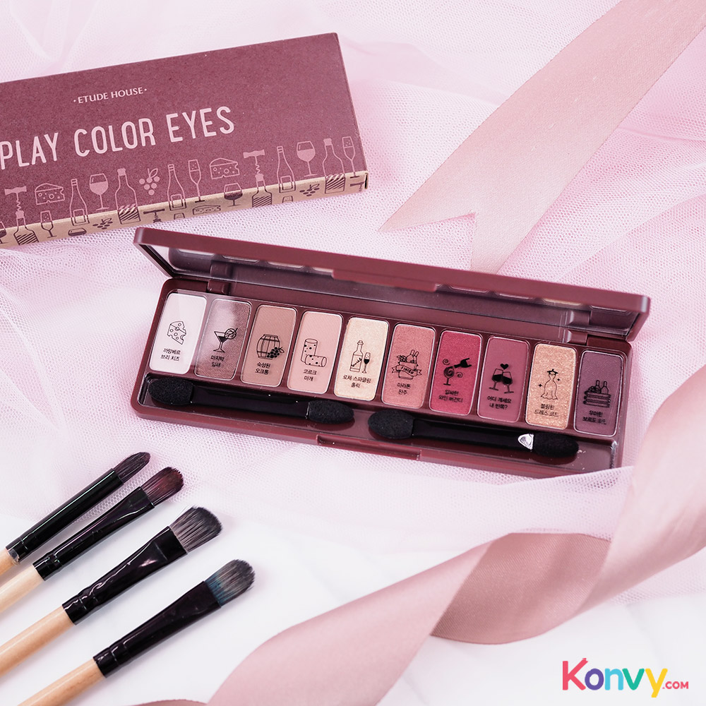 Etude House Play Color Eyes #Wine Party_3