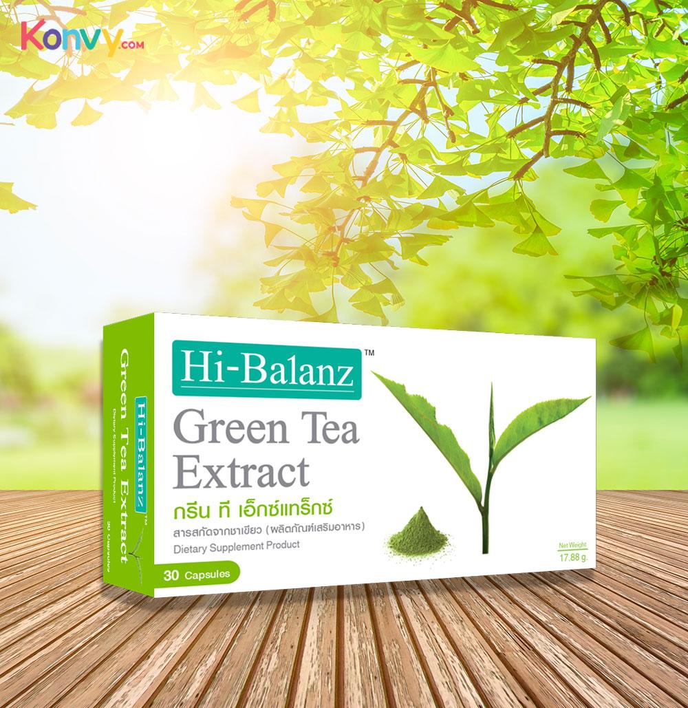 Hi-Balanz Green Tea Extract 30 Capsules