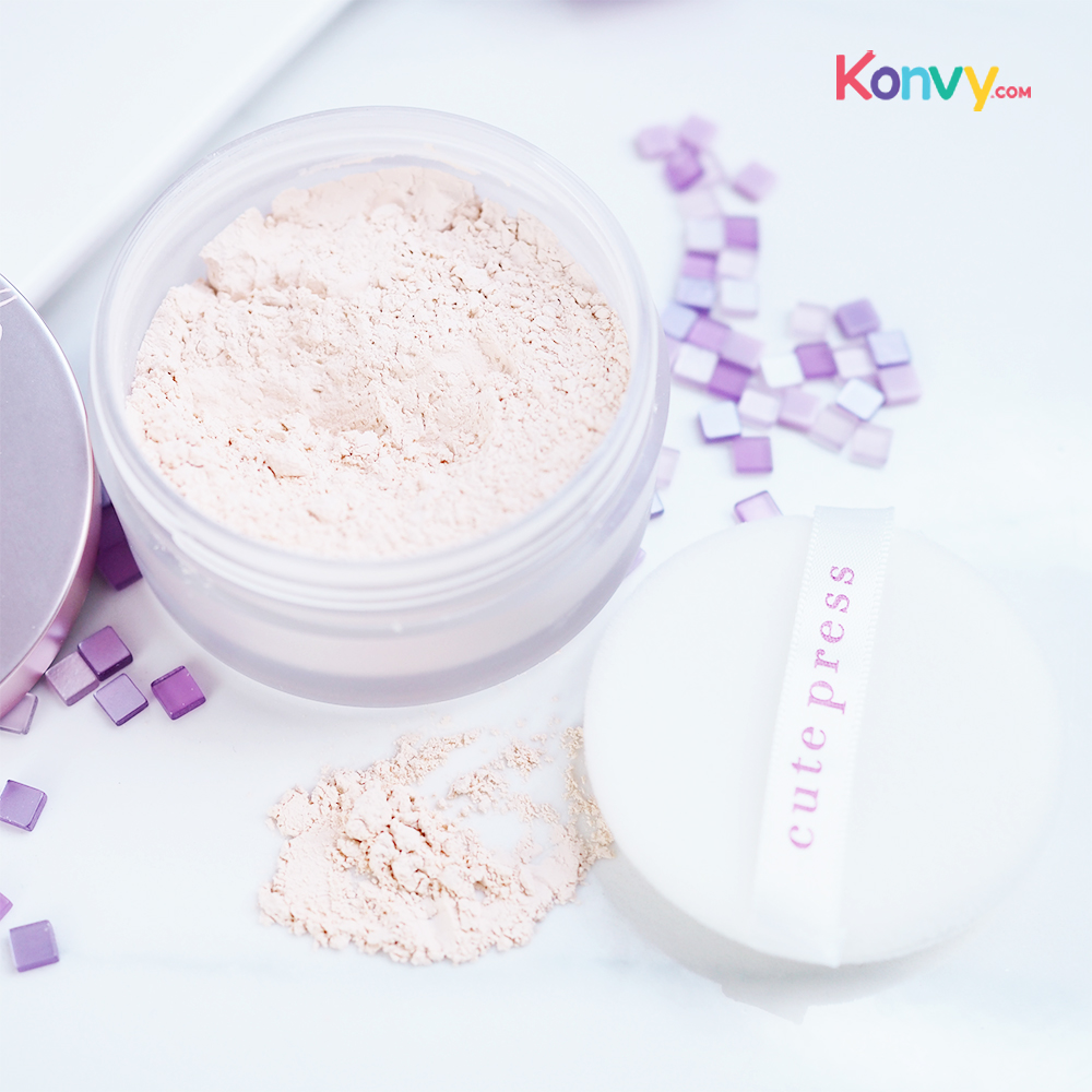 Cute Press 1-2 Beautiful Ultra Fine Matte Loose Powder_2