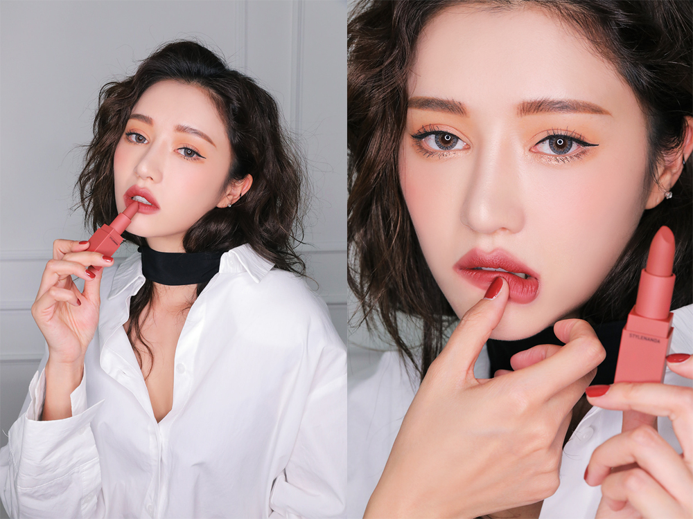 3CE Lip Color #221 Mellow Flower_3