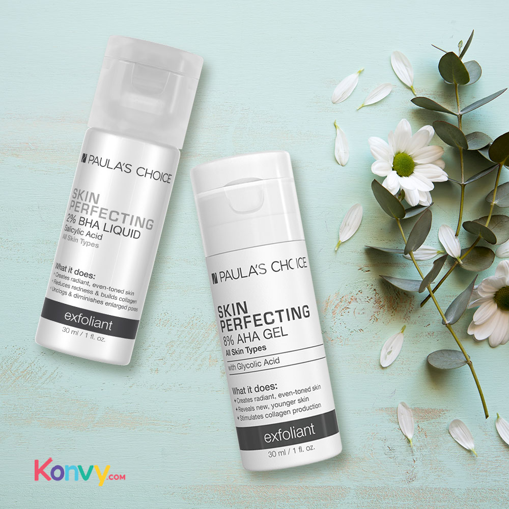 Paula's Choice Deluxe Skin Perfecting 8% AHA Gel Exfoliant 30ml