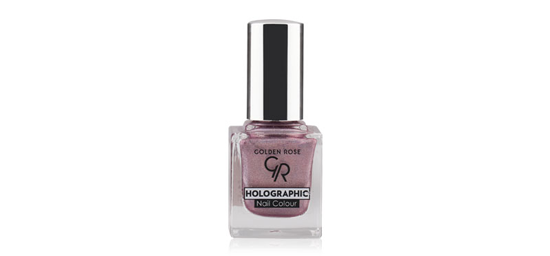 Golden Rose Holographic Nail Colour 10.5ml #03 ( สินค้าหมดอายุ : 2020.09 )