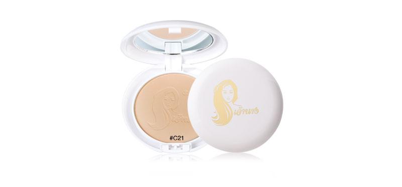 Chaonang เจ้านาง Perfect Bright 2 Way Powder Foundation 10g #C21 Light-Medium Skin
