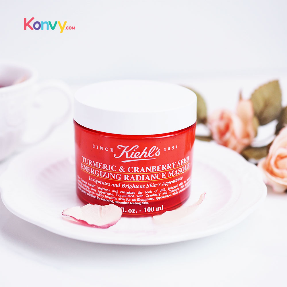 Kiehl's Turmeric & Cranberry Seed Energizing Radiance Masque 100ml