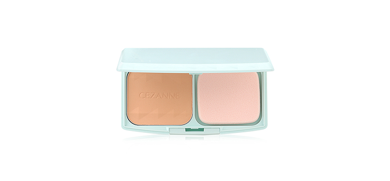 CEZANNE UV Foundation EX Plus Powder SPF23PA++ #EX2 Light Ochre