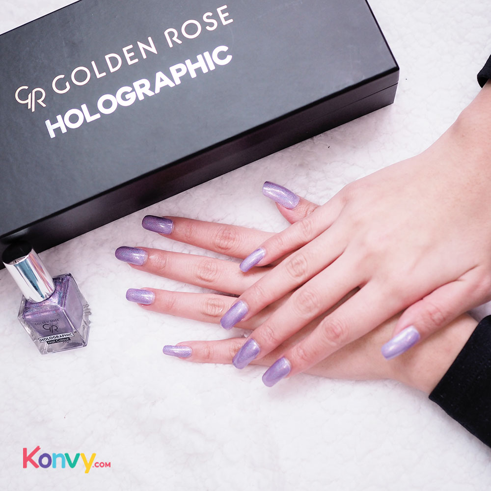 Golden Rose Holographic Nail Colour 10.5ml #05_3