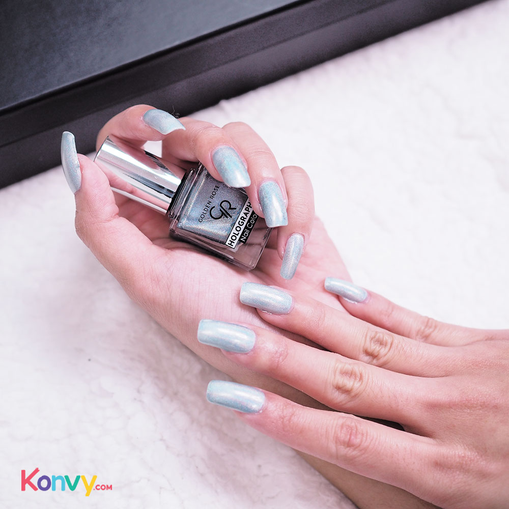 Golden Rose Holographic Nail Colour 10.5ml #06_4