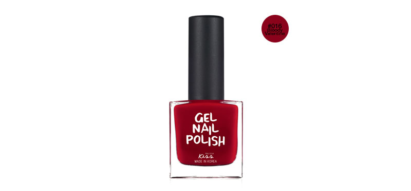 Malissa Kiss Gel Nail Polish NGP 10ml #016 Bloody Valentine