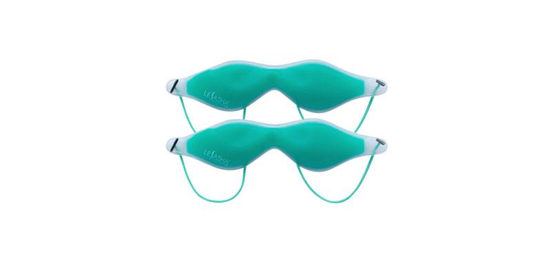 แพ็คคู่ Le'sasha Mini Eye Mask Aroma Mint