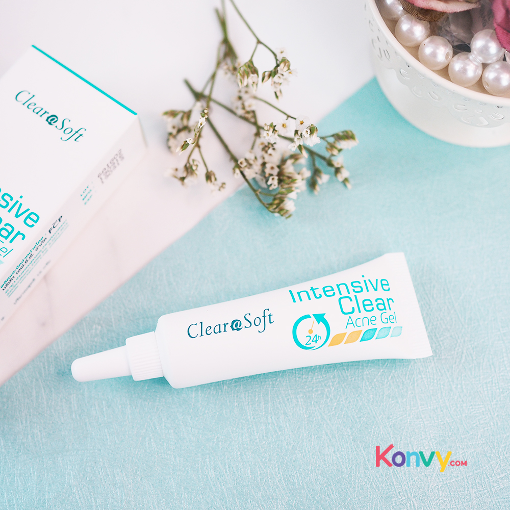 Clearasoft Intensive Clear Acne Gel 15g_1