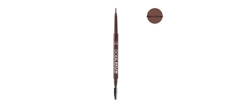 Code Brow Super Slim Pencil 0.1g #Natural Brown