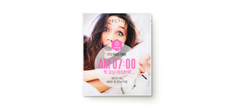 Hectic AM 07:00 Quick Morning Mask 13g