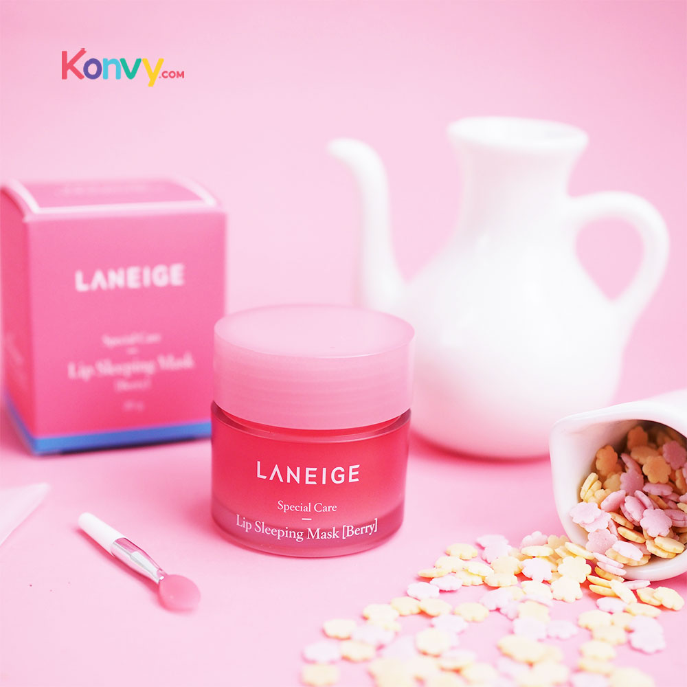 Laneige Special Care Lip Sleeping Mask 20g #Berry_1