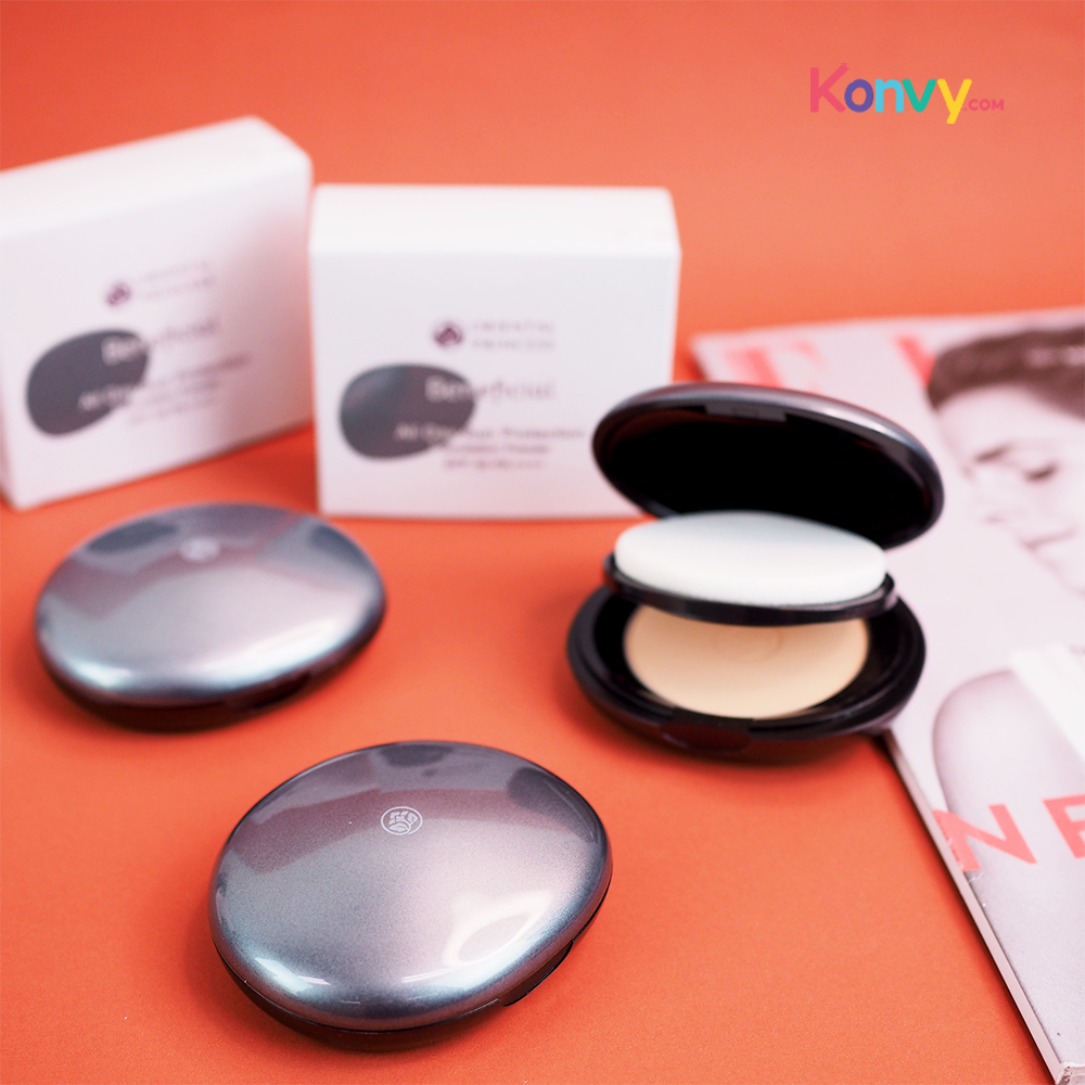 Oriental Princess Beneficial All Day Sun Protection Foundation Powder SPF50/PA++++ 11g #01 Ivory_1