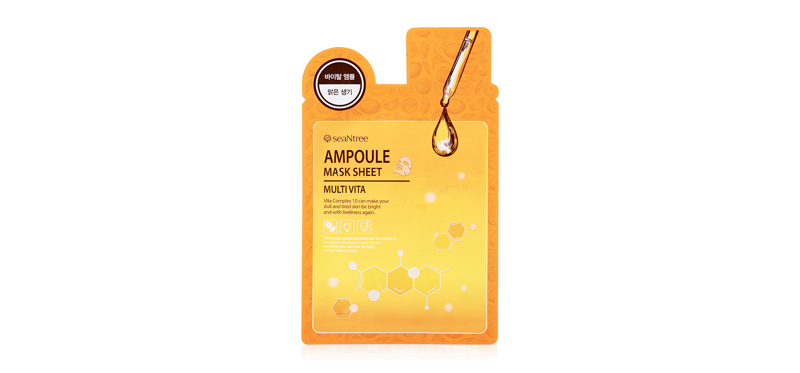 SeaNtree Multi Vita Ampoule Mask Sheet 20g
