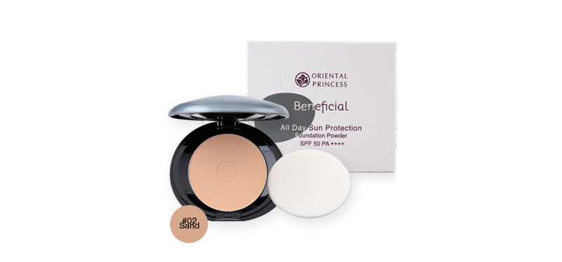 Oriental Princess Beneficial All Day Sun Protection Foundation Powder SPF50/PA++++ 11g #02 Sand