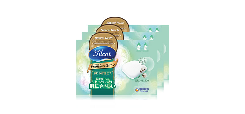 Silcot Natural Touch (66pcs x 3pack)