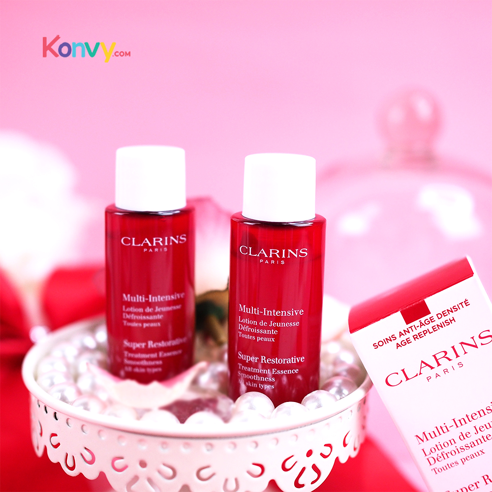 Clarins Multi Intensive Super Restorative Treatment Essence Smoothness (10mlx2pcs)