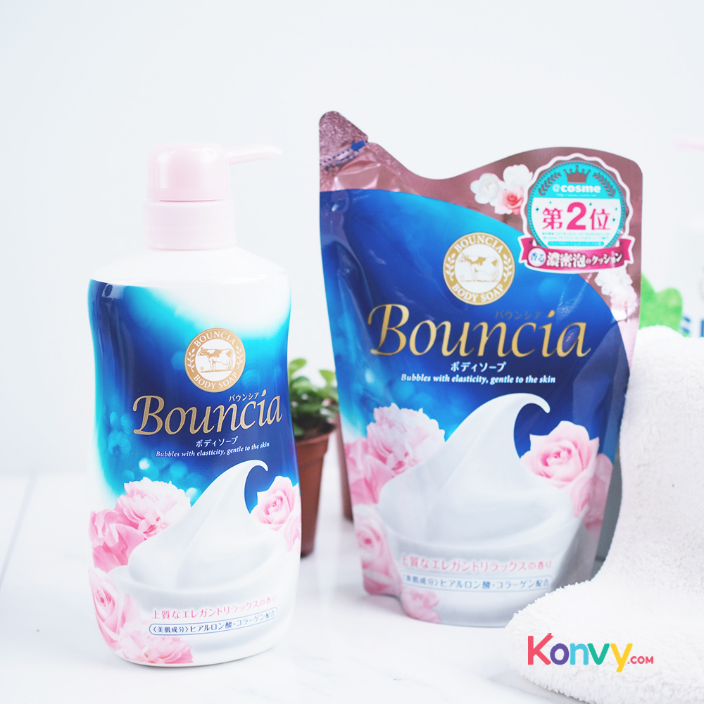 BOUNCIA Elegant Relax Floral Body Soap 430ml (Refill)