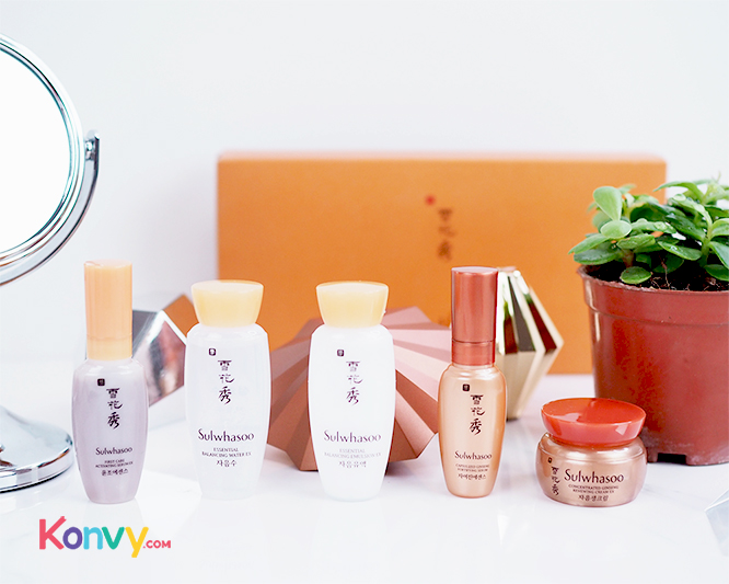 Sulwhasoo Concentrated Ginseng Renewing Kit - 5 Items