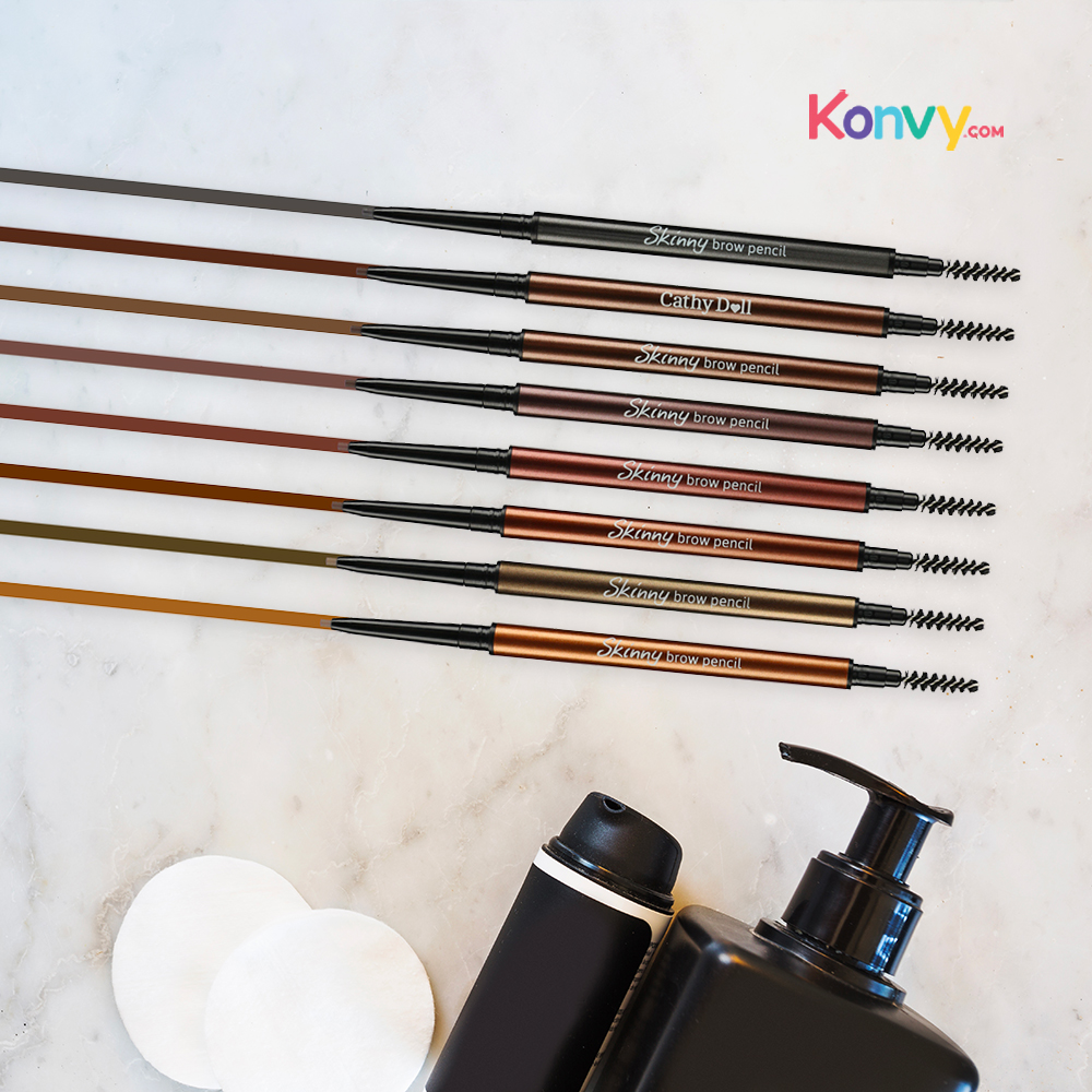 Cathy Doll Skinny Brow Pencil 0.03g #04 Cherry Brown_1