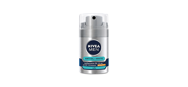 NIVEA Men White Acne Oil Control Powder Effect Serum SPF50/PA+++ 45ml