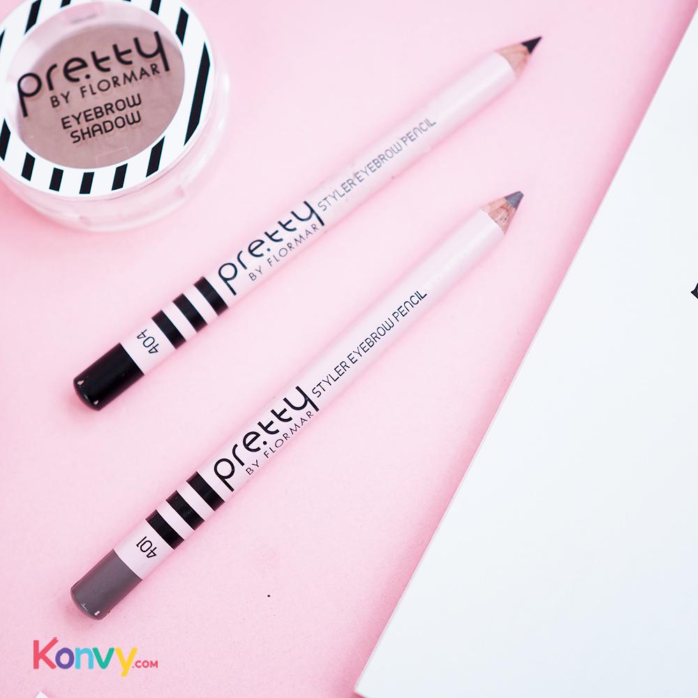 Pretty By Flormar Styler Eyebrw Pencil 1.08g #404 Dark Brunette_1