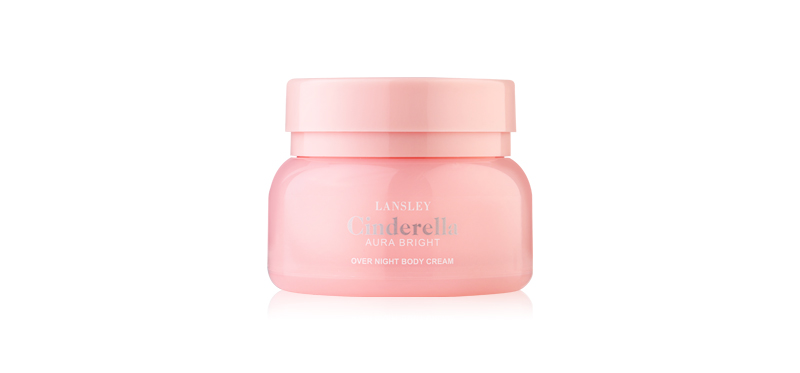 Beauty Buffet Lansley Cinderella Aura Bright Over Night Body Cream 125g