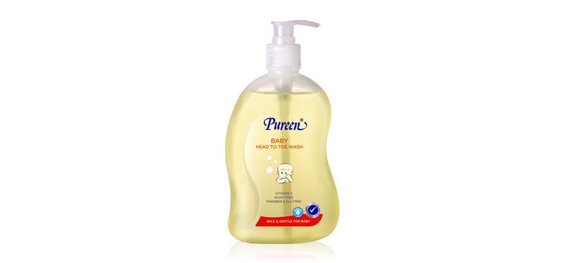 Pureen Head To Toe Wash 500ml