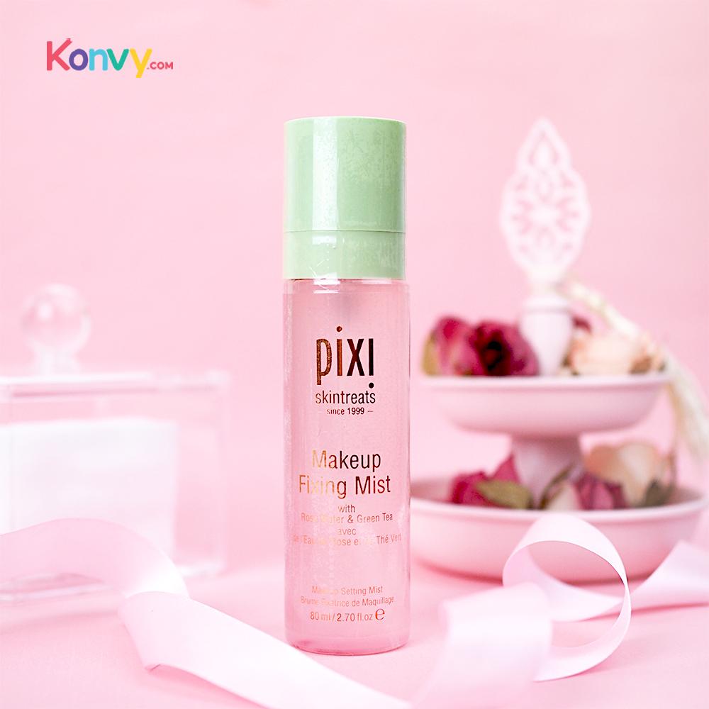 pixi Makeup Fixing Mist With Rose Water & Green Tea 80ml