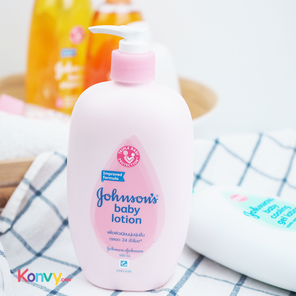 Johnsons Baby Pink Lotion 500ml