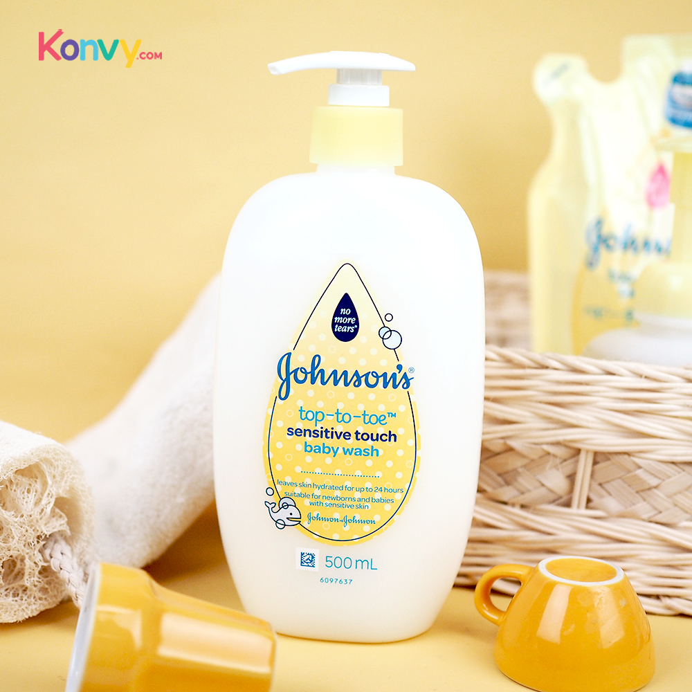 Johnsons Baby Top To Toe Sensitive Touch Baby Wash 500ml