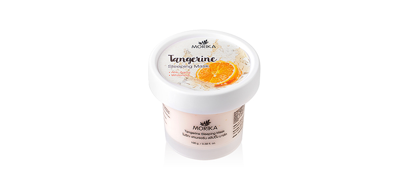 Morika Tangerine Sleeping Mask 100g